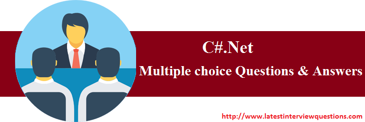Multiple choice Questions on C#.Net