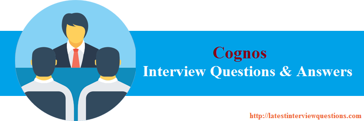 Interview Questions for Cognos