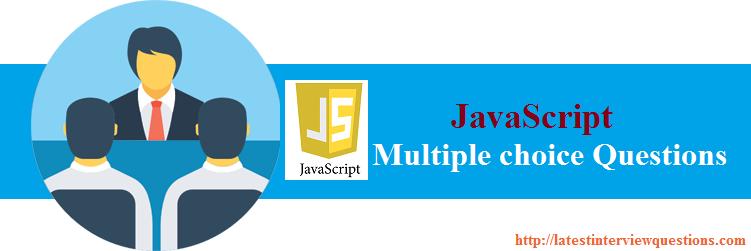 MCQs on JavaScript