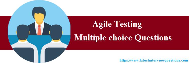 MCQs on Agile Testing