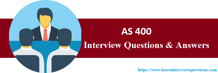 Interview Questions On AS 400
