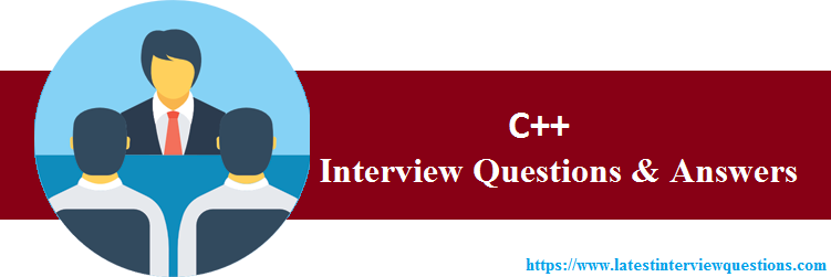 Interview Questions On C++