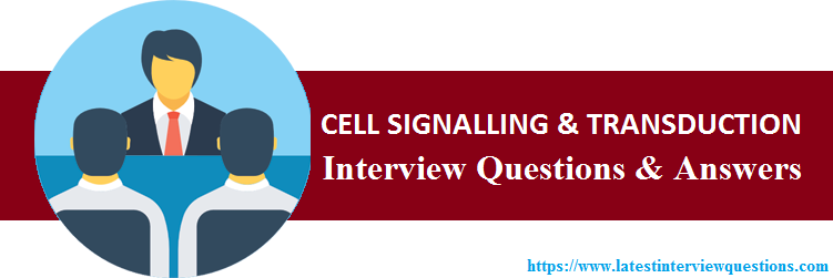 CELL SIGNALLING and TRANSDUCTION Questions