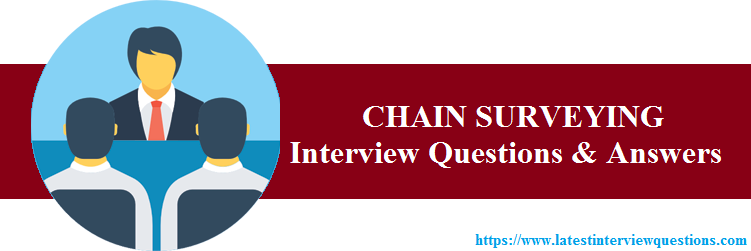 Interview Questions on CHAIN SURVEYING