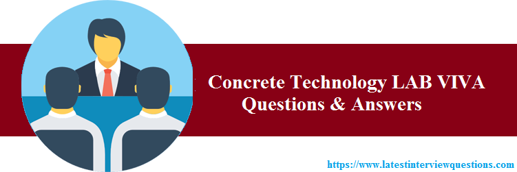 Concrete Technology LAB VIVA Questions
