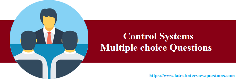 MCQs on Control Systems