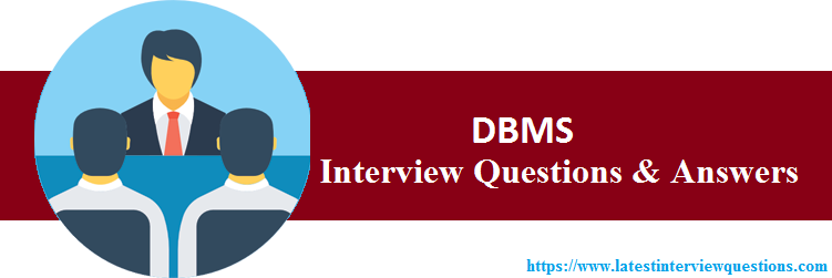 Interview Questions On DBMS