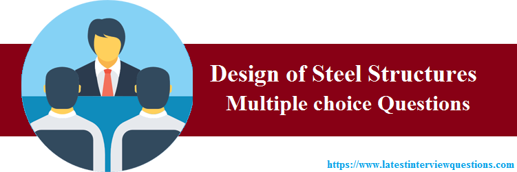 MCQs on Design of Steel Structures