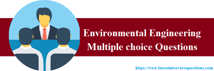 MCQs on Environmental Engineering