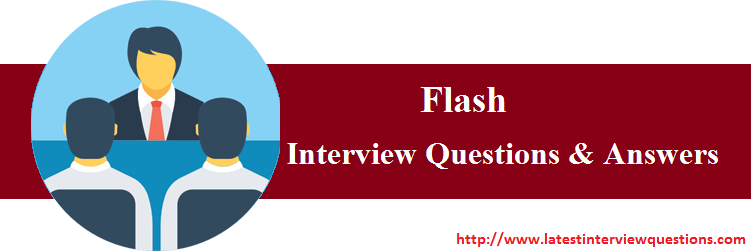 interview questions on flash