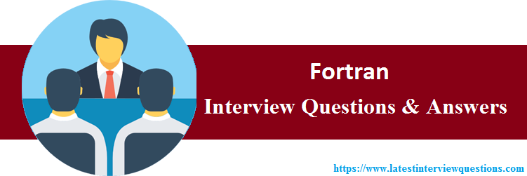 Interview Questions On Fortran