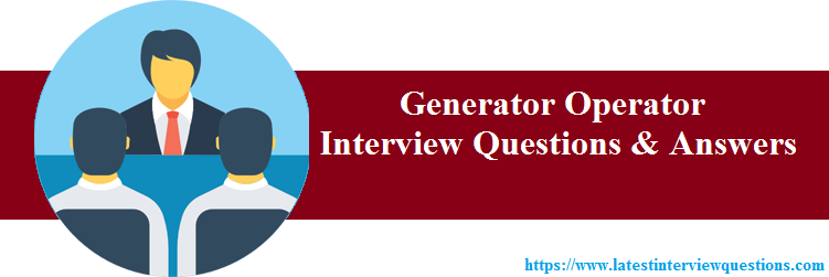 Interview Questions on Generator Operator