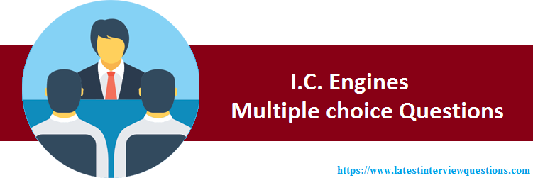 MCQs on IC Engines