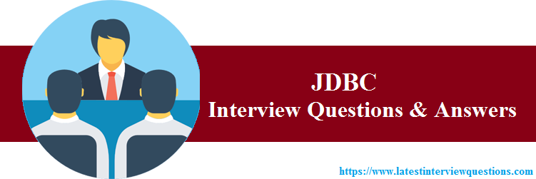 Interview Questions on JDBC