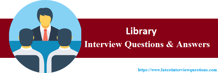 Interview Questions On Library
