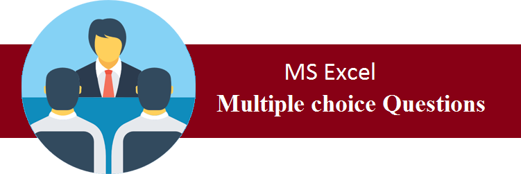Objective Type Questions On MS Excel