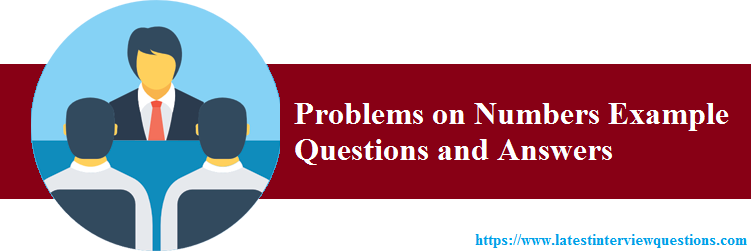 Number System Problems and Solutions
