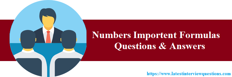 Interview Questions for Numbers