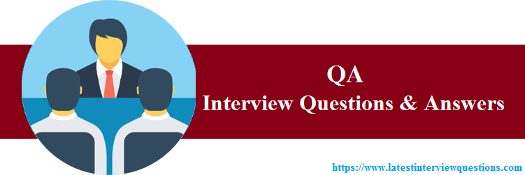 Interview Questions on QA