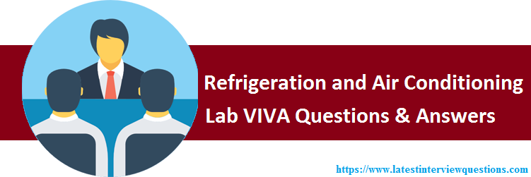 VIVA Questions on Refrigeration and Air Conditioning