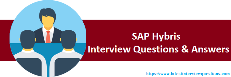 Interview Questions on SAP Hybris