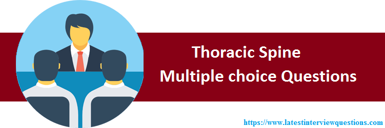 MCQs on Thoracic Spine
