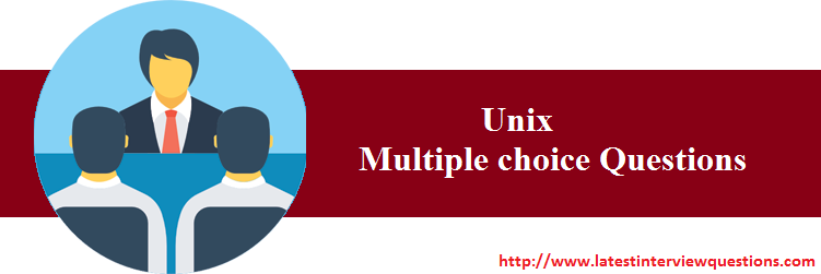 Multiple choice Questions on Unix