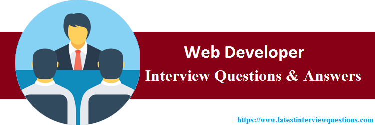 Interview Questions On Web Developer